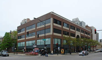 The Office Building At 1201 N Clark St Photo From CoStar Group Inc