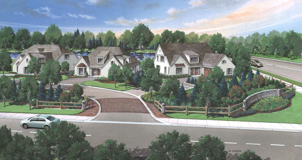 Hibbard Gardens Project In Northfield Have First Floor Master Bedrooms, And  All Sold Before Construction Began Last Fall.