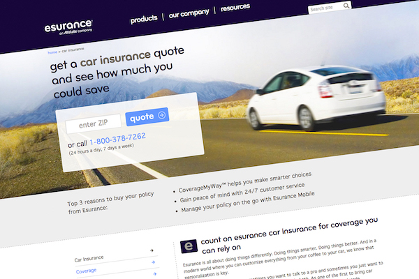esurance allstates 1 billion bet on selling car insurance over the internet is all grown up now but the young adult is still living at mom and dads