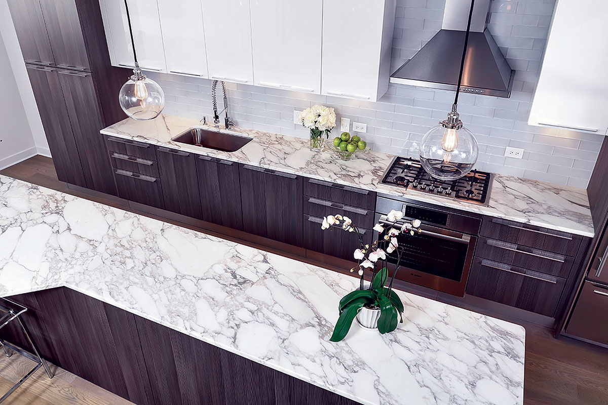 The founder of Monica & Andy got an affordable, chic kitchen