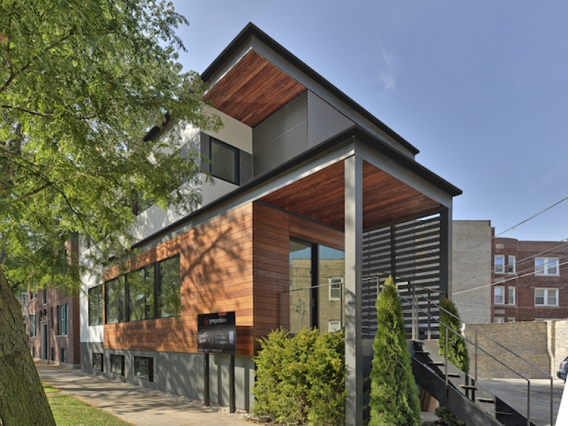 5 sharp modern houses for edgewater andersonville