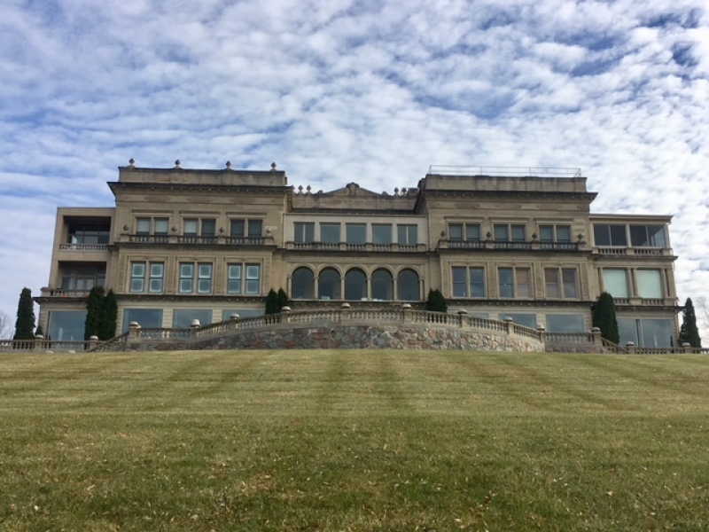 Meet the woman who's spent $16 million assembling a Lake Geneva mansion
