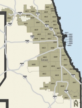 Chicago Zip Code Maps | Chicago Business & Financial News & Analysis