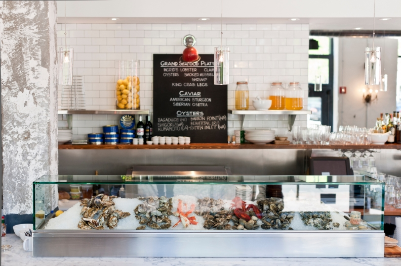 the raw bar at the kitchen in denver the chicago restaurants look is expected to be similar - The Kitchen Denver