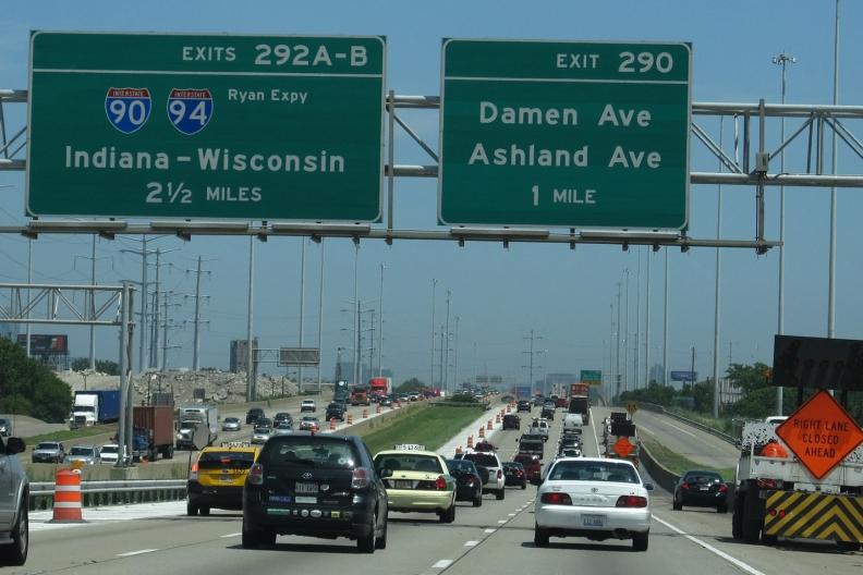Interstate 55 toll road option under idot review interstate 55 aka the stevenson expressway publicscrutiny Images
