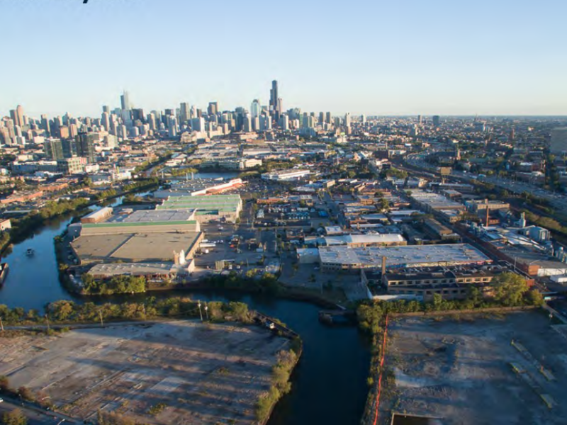New plan for Lincoln Yards replaces stadium with park