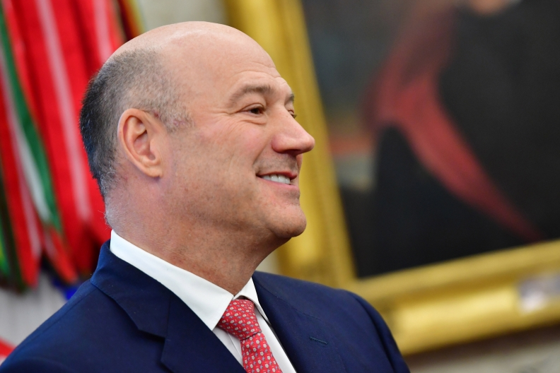 From Trump to blockchain: Gary Cohn signs on with Spring Labs