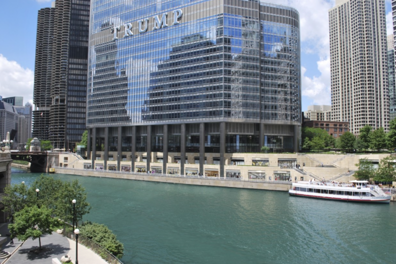 Trump Tower Sued Over Chicago River Pollution